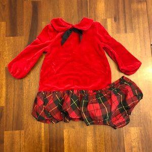 Ralph Lauren 12 Month Holiday Dress